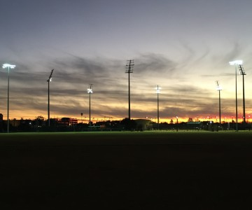 Robertson Oval Floodlighting